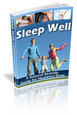 Product picture Sleep Well A Natural Remedy Guide For Healthful Sleep (MRR)