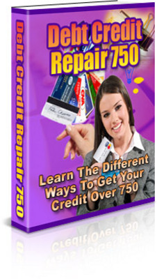 Product picture Debt Credit Repair 750 (PLR)