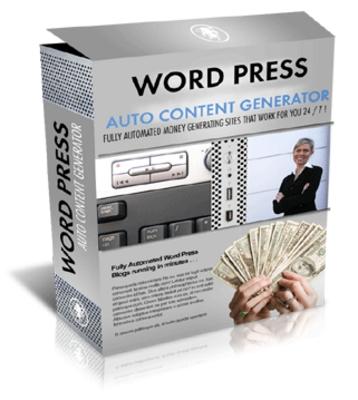 Product picture WP Auto Content Generator Script
