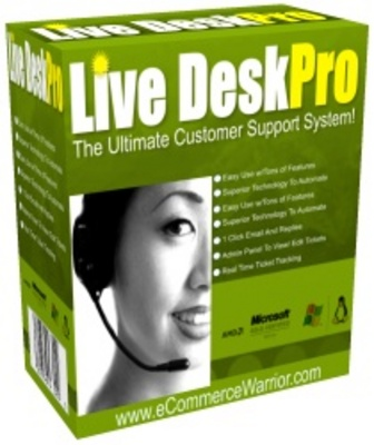 Product picture Live Desk Pro The Ultimate Customer Support System