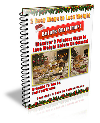 Product picture 2 Easy Ways to Help You Lose Weight Before Christmas (MRR)