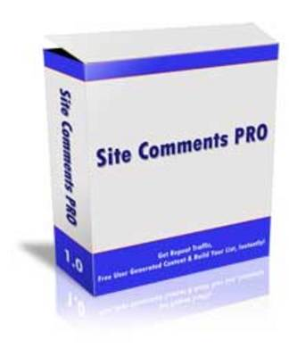 Product picture Site Comments Pro (MRR)