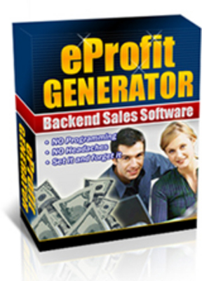 Product picture eProfit Generator With MRR