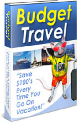 Product picture Budget Travel With PLR Package