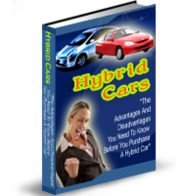 Product picture Hybrid Cars, Why Bother (PLR)