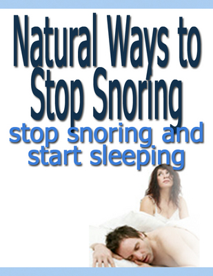 Product picture Natural Ways to Stop Snoring (PLR)